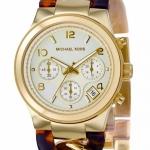 Michael Kors Women's MK4222 Chronograph Goldtone Watch