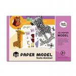 3D-PAPER MODEL - Cute Animal โมเดลกระดาษ 3 มิติ