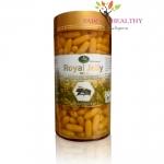 Nature King Royal Jelly 1000 mg. นมผึ้ง เนเจอร์คิงส์ 1000 มก. บรรจุ 365 เม็ด ราคา 1,095 บาท ส่งฟรี