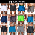 UNDER ARMOUR VENT & PRINTED BOXER SHORTS