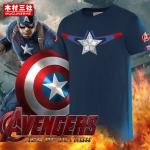 Preorder เสื้อยืด Captain America blue ver2