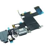 อะไหล่ไอโฟน สายแพร USB+Small+ไมค์ ไอโฟน 6 สีดำ