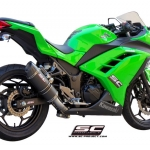 SC Project Full System Oval Kawasaki Ninja 300