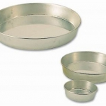 Matfer Round Drop Plain Mould (พิมพ์ Moka) 180x40 mm (340705)
