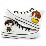 รองเท้าผ้าใบ Attack on Titan cartoon ver2