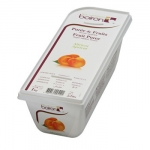 Boiron แอพริคอตบดแช่แข็ง (Boiron Puree Apricot suger add ) 1 kg