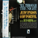Julie London With The Bud Shank Quintet - All Through The Night
