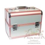 BEAUTY SECRET D Professional Cosmetic Case BX005 กระเป๋าใส่เครื่องสำอางค์ (สีขาว)