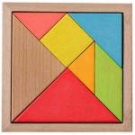 Tangram Game 7 pieces เกมตัวต่อปริศนา