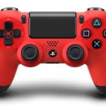 จอย PS4: Dual Shock 4 Red (Warranty 3 Month)