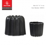 Matfer Cannele mould non-stick aluminium 5.5*5.5 cm (340413)