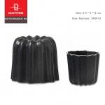 Matfer Cannele mould non-stick aluminium 5.5*5.5 cm (340413)