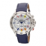 Nautica Men's N16530G NST Chronograph Blue Polyurethane Watch