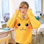 Preorder เสื้อฮู๊ดดี้ Pokemon Pikachu