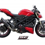SC Project Oval Carbon for Ducati Street Fighter