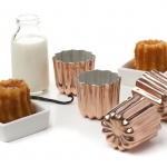 Matfer Canele Mould Copper 5x5 cm (340417)