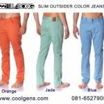 Billabong Slim Outsider Colors Jeans Pants ( เนื้อผ้ายืดหยุ่นได้จ้า )