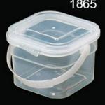 กระปุกเซฟตี้ซิล 250 ml ตัวฝาใส 1865 (1*50)
