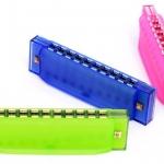 Mini Harmonica For Kids ฮาร์โมนีก้าสำหรับเด็ก สีน้ำเงิน
