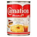 นมข้นจืดคาร์เนชั่นรูปไข่เจียวสำหรับเบเกอรี่และอาหาร 405 g