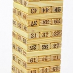 Wooden Tumbling Stacking Jenga Tower Children Game