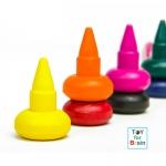 สีเทียนสวมนิ้ว 7 สี Joan Miro Washable Finger Crayon 7 colors
