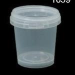 กระปุกเซฟตี้ซิล 350 ml ตัวฝาใส 1659 (1*50)