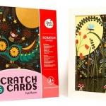 Scratch Cards - Full Moon การ์ดศิลปะขูด ชุดคืนจันทร์เต็มดวง