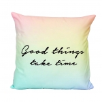 หมอนอิง Pillow room decor (Good Things Take Time)