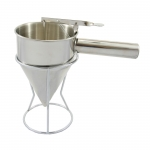 9911 Stainless steel cream measuring cup with stand cn