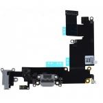 อะไหล่ไอโฟน สายแพร USB+Small+ไมค์ ไอโฟน 6Plus (สีดำ)