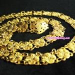 เข็มขัดชุบทอง (G001)