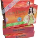 Sun Clara ซัน คลาร่า(กล่องสีส้ม) 1กล่อง บรรจุ 30 แคปซูล 300 บาท ส่งฟรี ลทบ.