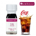 LorAnn Cola Flavor 3.7 ml.