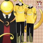เสื้อกันหนาวมีฮู้ด Korosensei (สีเหลือง)