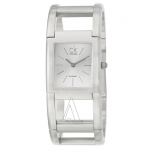 CK Calvin Klein Women's K5912120 Rectangular Watch