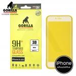 กระจกนิรภัยระดับฟรีเมี่ยม Gorilla Tempered Glass Real 3D iPhone 6 Plus / 6S Plus - ( ขอบโค้งพิเศษ )