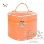 กระเป๋าใส่เครื่องสำอาง YM Korean Makeup Large Bag- สีส้ม