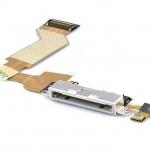 อะไหล่ไอโฟน สายแพร USB ไอโฟน 4S (สีขาว)