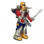 หุ่นยนต์เดินได้ มีเสียงมีไฟ หมุนตัว
