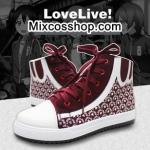 Preorder รองเท้าผ้าใบ Love Live