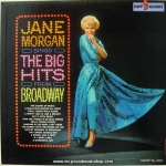 Jane Morgan - Sings The Big Hits From Broadway