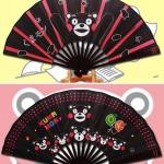 Preorder พัดญี่ปุ่น KUMAMON