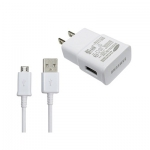 wall charge adapter +Micro USB Cable - white