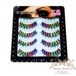 Beauty Secret D ขนตาปลอม Harajuku Color Fantasy 5 pairs รุ่น AIMO M6 ( สีแฟนตาซี )