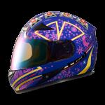 หมวกกันน๊อค Real Hornet GP Racer สีน้ำเงินม่วง