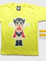 T-Shirt เสื้อยืดเด็ก เสื้อยืดกันดั้ม Jetter Mars เจ็ตเตอร์ มารุส เจ้าหนูจอมพลัง (Zaku II) สุดเท่ห์ สีเหลือง จากร้าน GUNZU เสื้อยืดเด็ก!! Asia Street Fashion