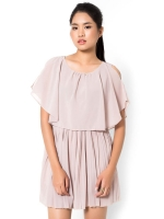 Mirror Asia Dresses For Women Trendy Fashion Style Online แฟชั่นเดรส Ruffle Layered Chiffon Pleated