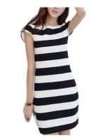 Fashionstory maxi dress พร้อมสายผูกคาดเอว - สีเทาอ่อน
