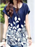 Ladies Fashion V Neck Split Long Sleeve Mini Dresses Online